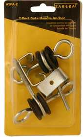 Zareba ATPA-Z T-Post Gate Handle Anchors