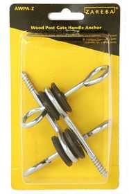 Zareba AWPA-Z Wood Post Screw-In Gate Anchor