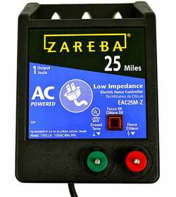 Zareba EAC25M-Z 25 Mile AC Low Impedance Charger