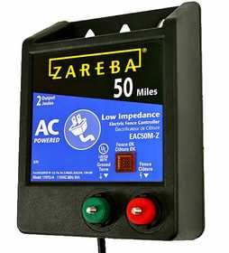 Zareba EAC50M-Z 50 Mile AC Low Impedance Charger