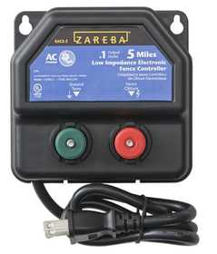 Zareba EAC5M-Z AC Powered 5 Mile Charger
