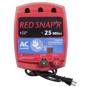 Zareba EAC25M-RS 25 Mile AC Low Impedance Fence Charger
