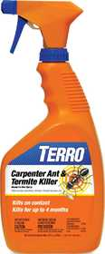 Terro T1100 Carpenter Ant And Termite Killer Ready-To-Use 32 Fl Oz