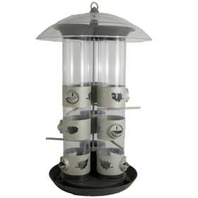 Perky Pet 329 2-In-1 Triple Tube Feeder