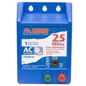 Fi-shock Inc EAC25M-FS AC Powered 25 Mile Fence Charger