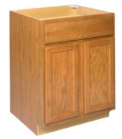 Zee Mfg B27 27 in Keystone Wheat Base Cabinet