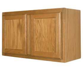Zee Mfg W3018 30 in X 18 in Keystone Wheat Wall Cabinet
