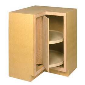 Zee Mfg LSB36BH Unfinished Birch Lazy Susan Cabinet