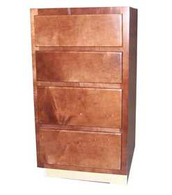 Zee Mfg DB424MGC Maple Grove Base Cabinet Drawer Cherry 24 in