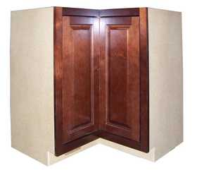 Zee Mfg LSB36MGCBX Maple Grove Base Cabinet Lazy Susan Cherry 36 in
