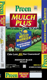 Sutherlands 95456138 Mulch W/Preen Midnight Black 2 Cu Ft