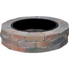 Country Stone Scallop Fire Ring No Grate Autumn Blnd