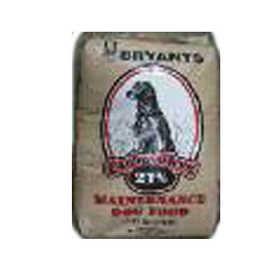 Bryant Grain Co FEED 21% Canine Maintenance Bite Size Dog Food