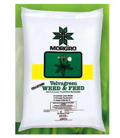 Morgro 172070 Velvagreen Weed & Feed 20-2-2 20Lb
