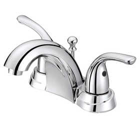 Flo Control Faucets F5111009CP 2-Handle Chrome Lavatory Faucet Chrome