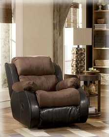 Signature Design By Ashley 3150025 Presley Rocker Recliner In Espresso