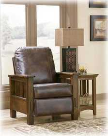 Signature Design By Ashley 8300126 Wilkins High Leg Recliner In Canyon