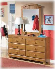 Signature Design By Ashley B233-21 Dresser Youth Stages Light Brown