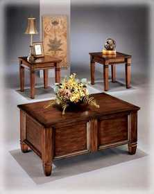 Signature Design By Ashley T155-13 Bongo Occasional Table Set (3/Cn)