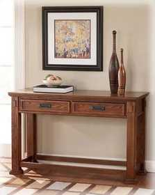 Signature Design By Ashley T419-4 Cross Island Sofa Table