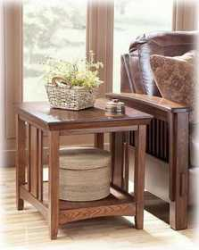 Signature Design By Ashley T535-3 Wilkes Rectangular End Table