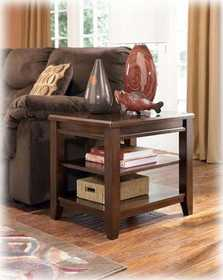 Signature Design By Ashley T544-3 Nigel Rectangular End Table