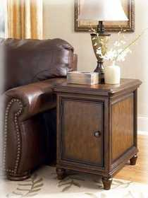 Signature Design By Ashley T703-3 Jamison End Table With Storage