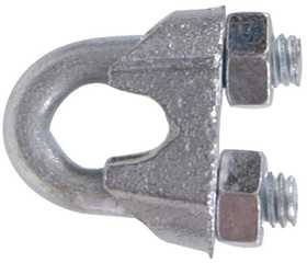Hillman 321746 3/4 in Zinc Plated Wire Rope Clip