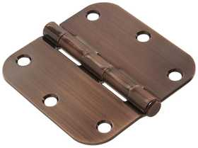 Hillman 852807 3-1/2 in Residential Door Hinge Antique Bronze