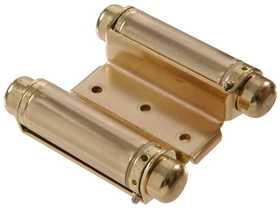 Hillman 852546 3 in Double Acting Satin Brass Spring Hinges