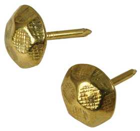 Hillman 532709 Hammered Brass Plated Furniture Nail