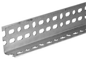 Hillman 11108 10 ft Plated Steel Slotted Angle - Os