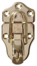 Hillman 851527 Ornamental Locking Draw Catch Brass Plated