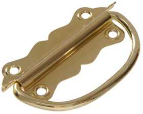 Hillman 852409 Chest Handle 3-1/2 in Brass Plated