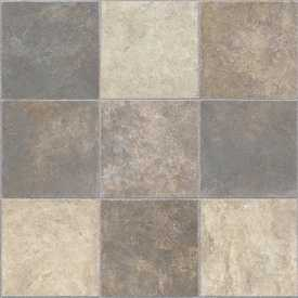 Tarkett 17042 Blue/Taupe Vinyl Flooring
