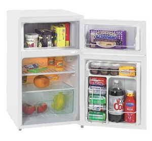 Avanti RA303WT-1 3.1 Cu. Ft. Two Door Counterhigh Refrigerator - White