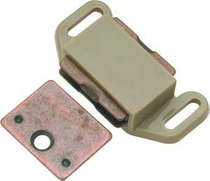 Hickory Hardware P110-TP 1-5/8-Inch Plastic Magnetic Catch