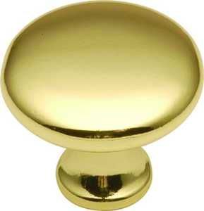 Hickory Hardware P14255-3 1-1/4-Inch Diameter Smooth Top Cabinet Knob