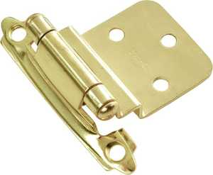 Hickory Hardware P143-3 3/8-Inch Self-Closing Offset Cabinet Hinge