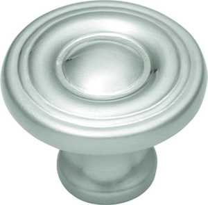 Hickory Hardware P14402-SN 1-1/8-Inch Satin Nickel Conquest Cabinet Knob