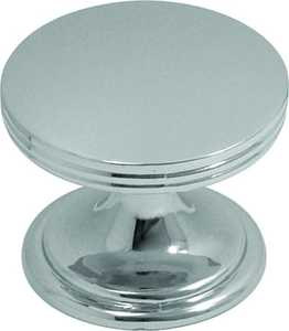 Hickory Hardware P2142-CH 1-3/8-Inch Chrome American Diner Cabinet Knob
