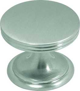 Hickory Hardware P2142-SN 1-3/8-Inch Satin Nickel American Diner Cabinet Knob