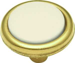 Hickory Hardware P225-LAD 1-1/4-Inch Tranquility Light Almond Cabinet Knob