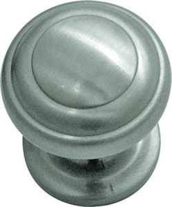Hickory Hardware P2286-SN 1-Inch Satin Nickel Zephyr Cabinet Knob