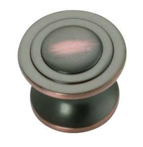 Hickory Hardware P3101-OBH 1-1/4-Inch Oil-Rubbed Bronze Highlight Deco Cabinet Knob