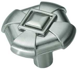Hickory Hardware P3455-SS 1-1/8-Inch Stainless Steel Chelsea Cabinet Knob