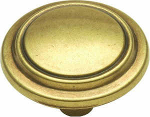 Hickory Hardware P413-LP 1-1/4-Inch Diameter Die Cast Cabinet Knob