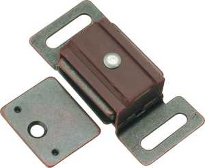 Hickory Hardware P649-STB 1-7/8-Inch Statuary Bronze Magnetic Catch