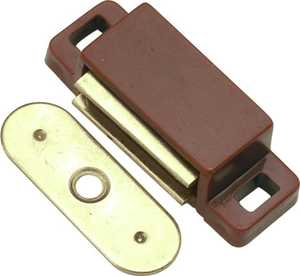 Hickory Hardware P650-STB 1-1/2-Inch Small Statuary Bronze Magnetic Catch