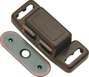 Hickory Hardware P659-STB 1-1/2-Inch Statuary Bronze Magnetic Catch